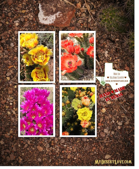 Wild Flora Card Gift Set 4 Handmade Greeting Cards Photo