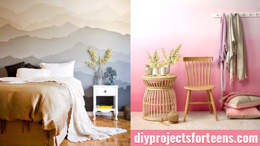 34 Cool Ways to Paint Walls - DIY Projects for Teens
