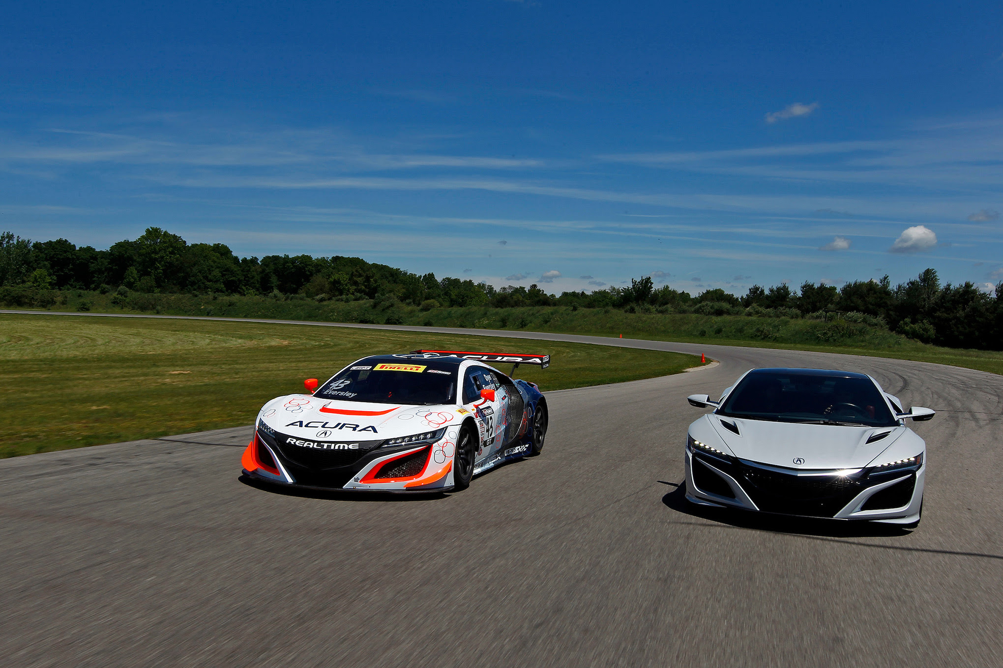 Colorado Car Guide First Laps Acura Nsx Gt3