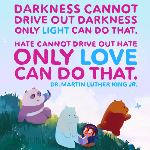On this day we honor the legacy of a hero. Thank you for your courage and commitment to equality for all. (🎨: @everydaylouie)