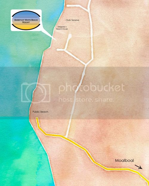 Barefoot White Beach - How to Get There
