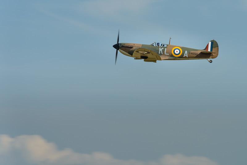Spitfire take-off