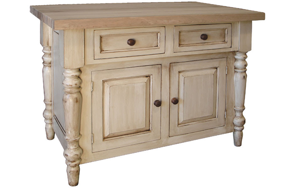 French Country Butcher Block Kitchen Island French Country Kitchen