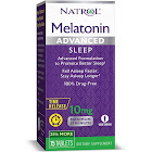 Natrol Melatonin, Advanced, 10 mg, Maximum Strength, Tablets - 75 tablets