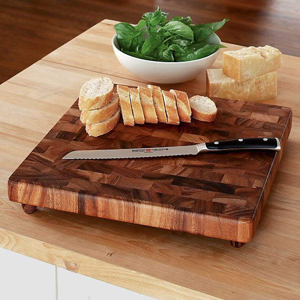 End Grain Chopping Board in Cutting Boards   Crate and Barrel