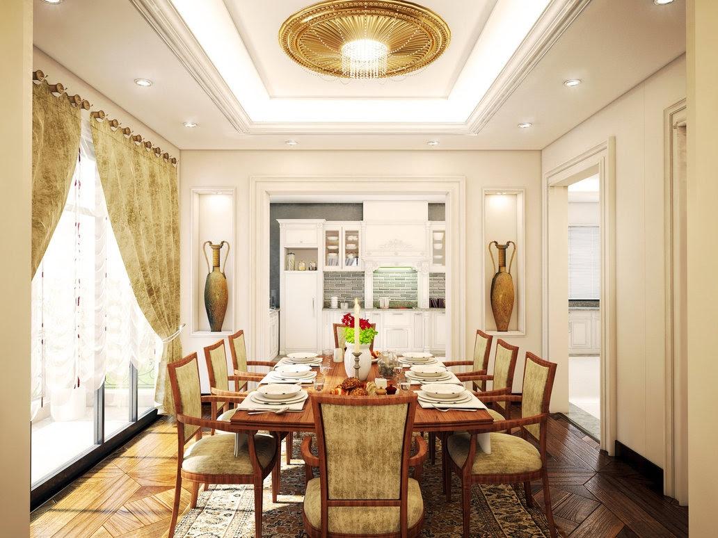 Traditional dining roomInterior Design Ideas.