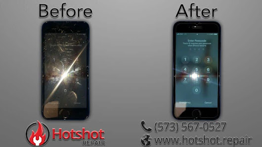 iPhone 7 Screen Repair » Hotshot Repair - Columbia MO