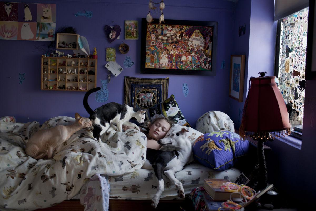 O Mundo de Amelia - A menina que cresceu com os animais e os considera seus irmãos 23