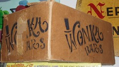 Wonka Bars prop box