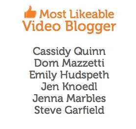 Most Likeable Video Blogger by stevegarfield