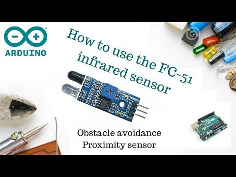 How to use the FC 51 InfraRed proximity/ obstacle avoidance
