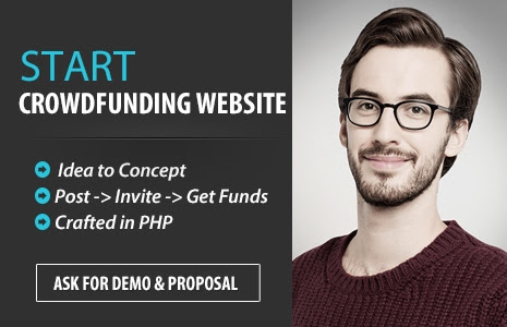 Start a crowd funding website, open source software platform - kickstarter clone