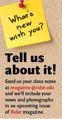 Class Notes | Rider University