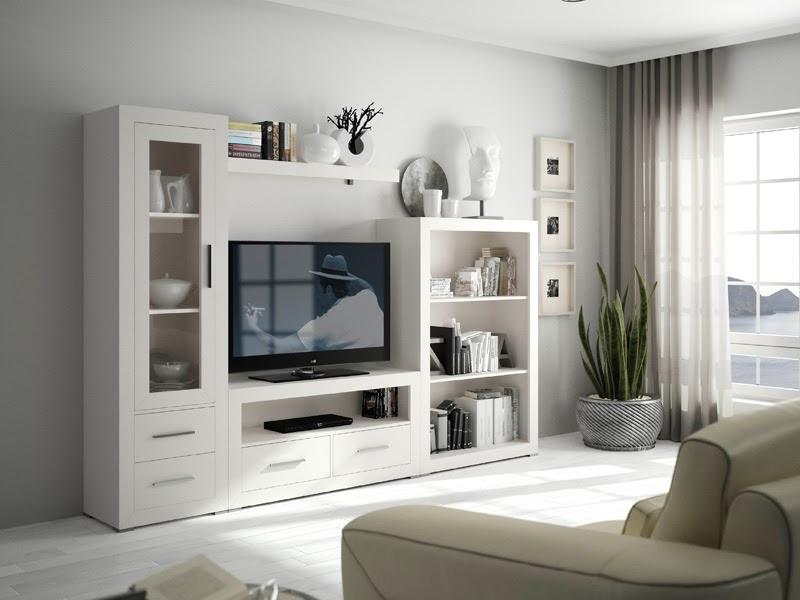 Decorar cuartos con manualidades salones con muebles blanco for Muebles la favorita