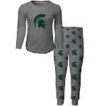 Youth Michigan State University Pajama Set Boys Sleepwear PJ Set