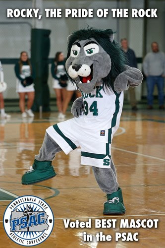 Rocky named best mascot in PSAC
