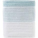 """Saturday Knight Ltd Planet Ombre Woven Ridges Distinctive Style Bath Towel - 28x54"""" Aqua - 28x54 Aqua"""