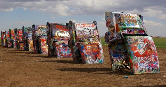 25 Wacky Roadside Attractions for Your Next Road Trip | Roadside Attractions, Cadillac and Road Trips