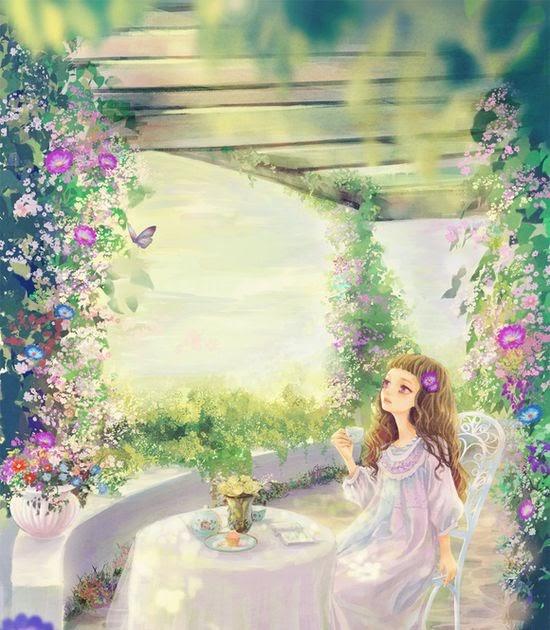 Beautiful garden decors ethan garden design ideas for Cj garden designs
