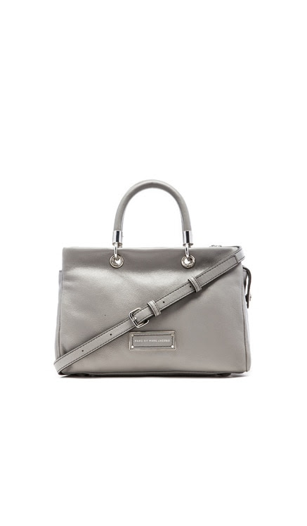 Marc by Marc Jacobs Too Hot to Handle Satchel in Storm Cloud | REVOLVE