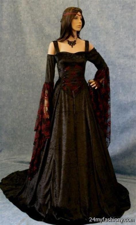 plus size gothic wedding dresses looks   B2B Fashion