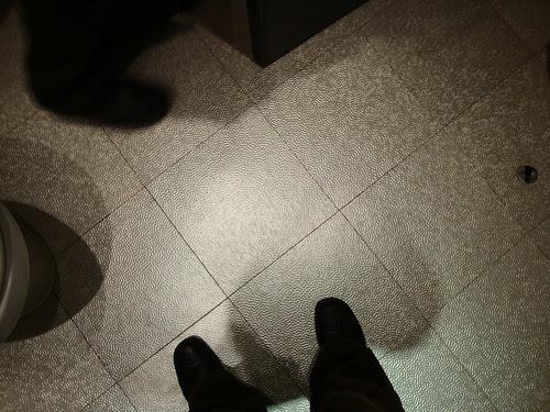 funky bathroom floor