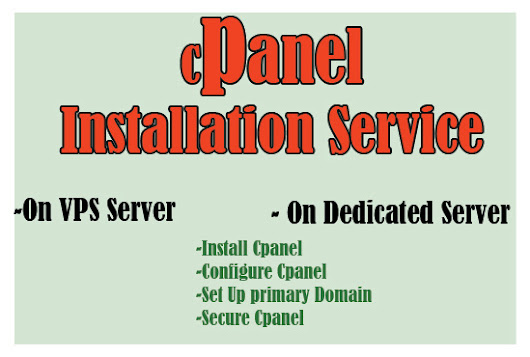 I will install cPanel WHM on your vps or dedicated server for $5