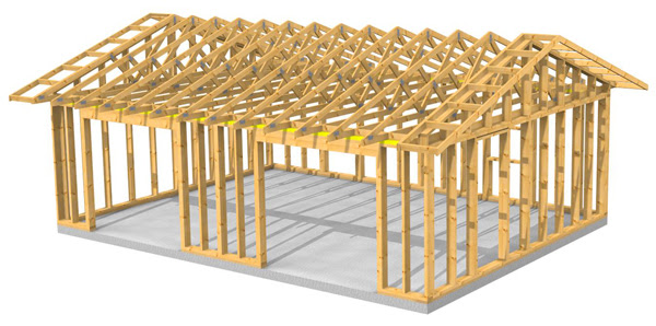 Garage Plan With Carport