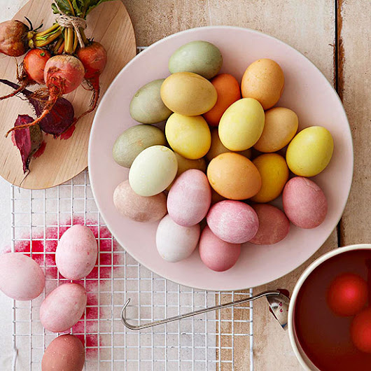 Create a Rainbow of Stunning All-Natural Dyed Easter Eggs
