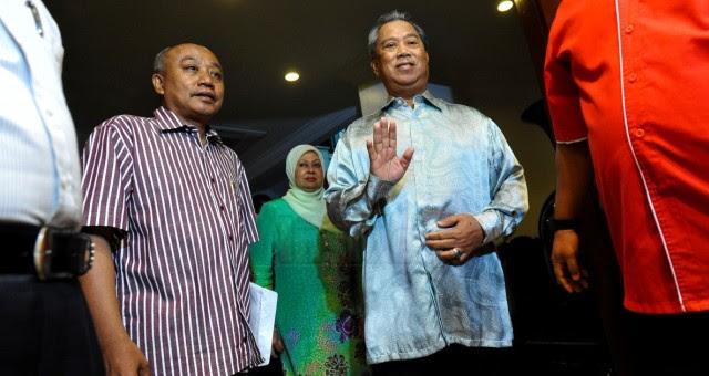 Tudung Labuh  Pemberontakan Umno bermula di Johor 39732f715e