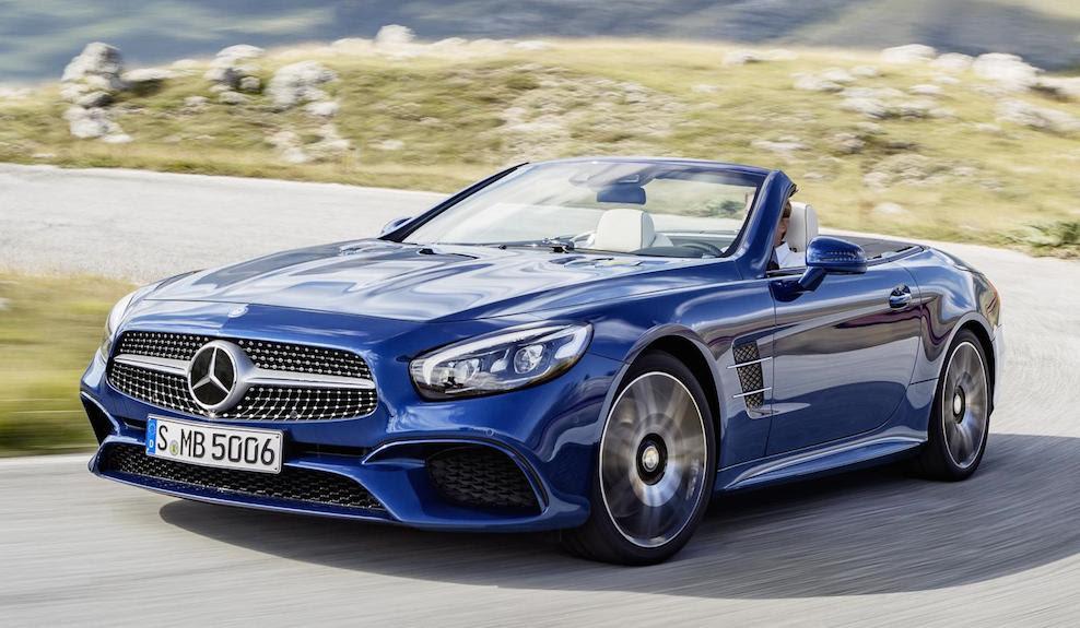 2017 Mercedes SL - UK Pricing