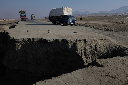 The U.S. spent billions building roads in Afghanistan. Now many of them are beyond repair.