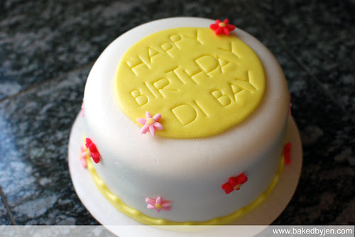 di bay's birthday cake