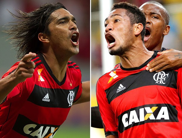 Na ponta do lápis, os atacantes do Flamengo vivem a matemática de diferenças.