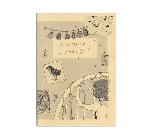 Slumber Party Zine Cover
