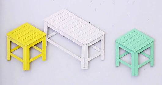 Clever Flat Furniture Folds Into Place Like a Pop-Up Book | WIRED