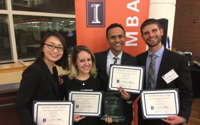 Analytical Skills, Personal Warmth Help UConn MBA Team Finish Prominently in Case Competition
