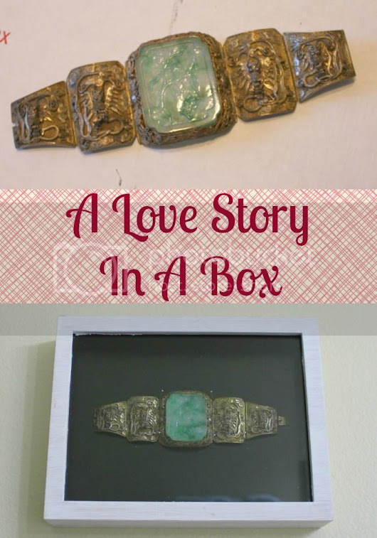 A Love Story In A Box - Anne Hogan