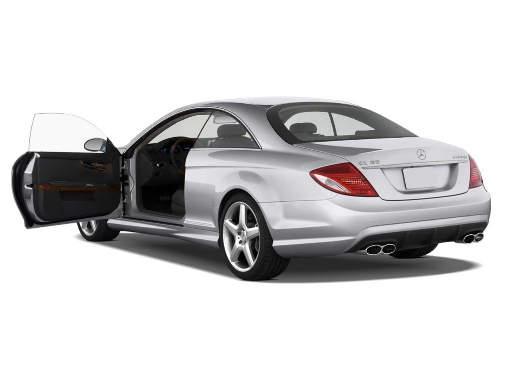 Image: 2009 Mercedes-Benz CL Class 2-door Coupe 6.0L V12 ...