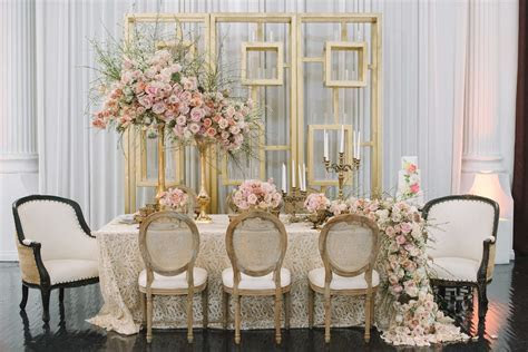 Wedding Color Palette: Pink and Gold Wedding Ideas