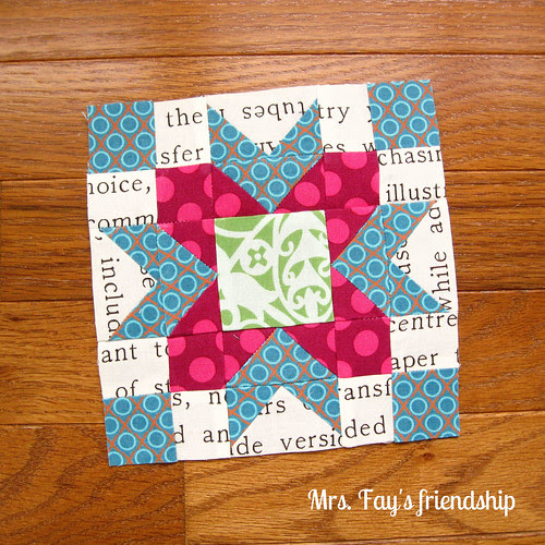 Mrs. Fay's friendship block