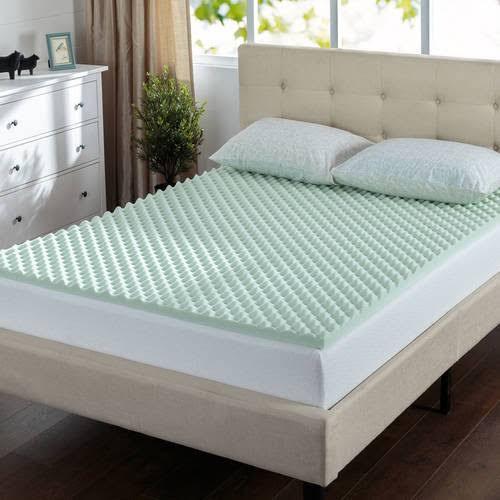air mattress topper queen Spa Sensations Fresh Air Memory Foam 1.5 inch Mattress Topper  air mattress topper queen