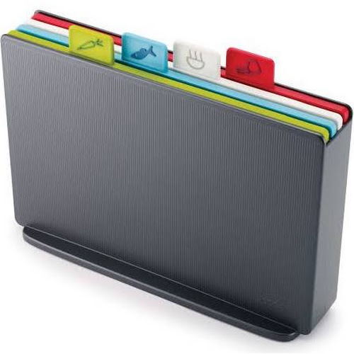 Joseph Joseph Index Chopping Board Set, Graphite