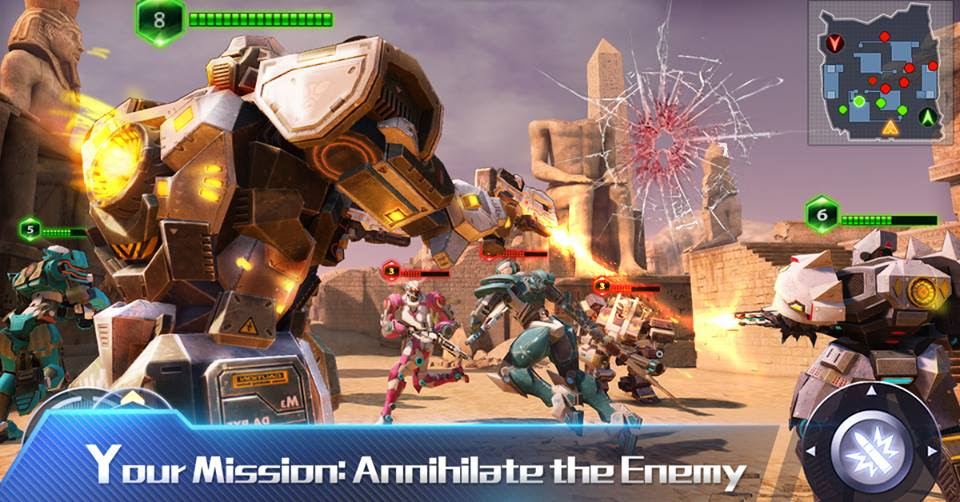 game TechnoStrike cho apk