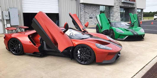 You Can Actually Get the New Ford GT in Any Color You Want