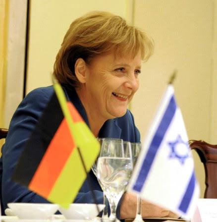 Bundeskanzlerin Angela Merkel in Israel 2008