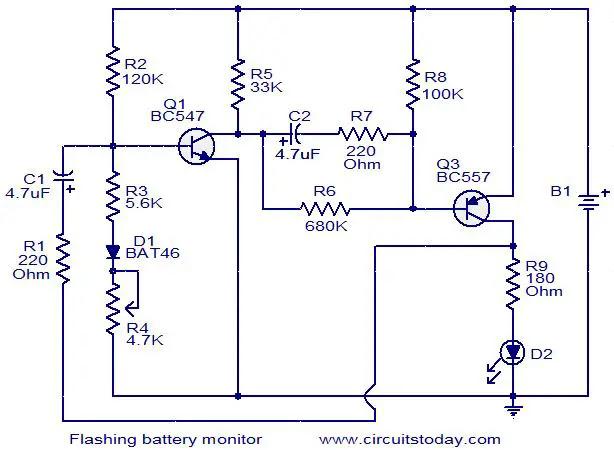 flashing-battery-monitor-circuit