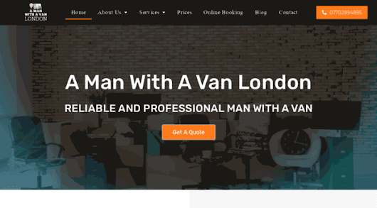 - Man And Van London | Hire A Ma... - A Man Witha Van London