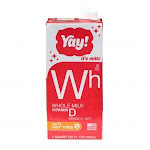 Yay Whole Milk Extended Shelf Life Aseptic 32oz (PACK OF 12)