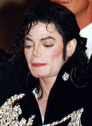 English: Michael Jackson at the Cannes film fe...